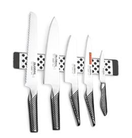 Knife Sets with Magnetic Racks or Blocks