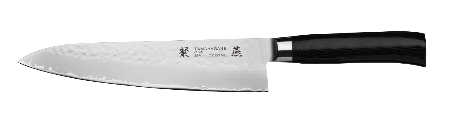 tamahagane san tsubame 21cm chef s knife kitchenknives co uk