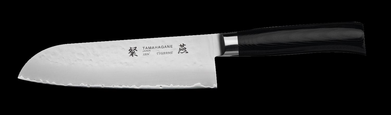 Tamahagane San Tsubame 17.5cm Santoku Knife