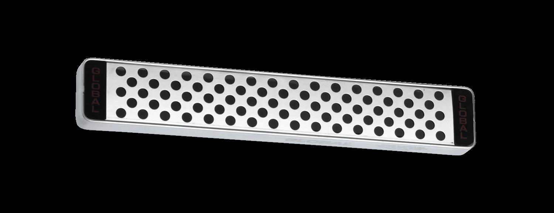 Global G4230 30cm Stainless Steel Magnetic Knife Rack G