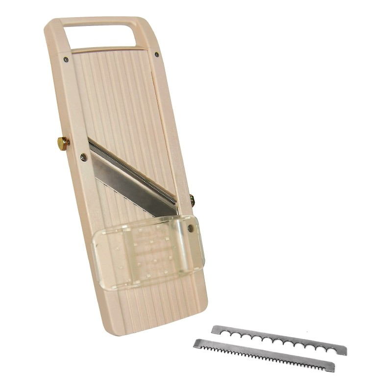 Peter Maturi Jumbo Mandolin Slicer with three interchangable blades