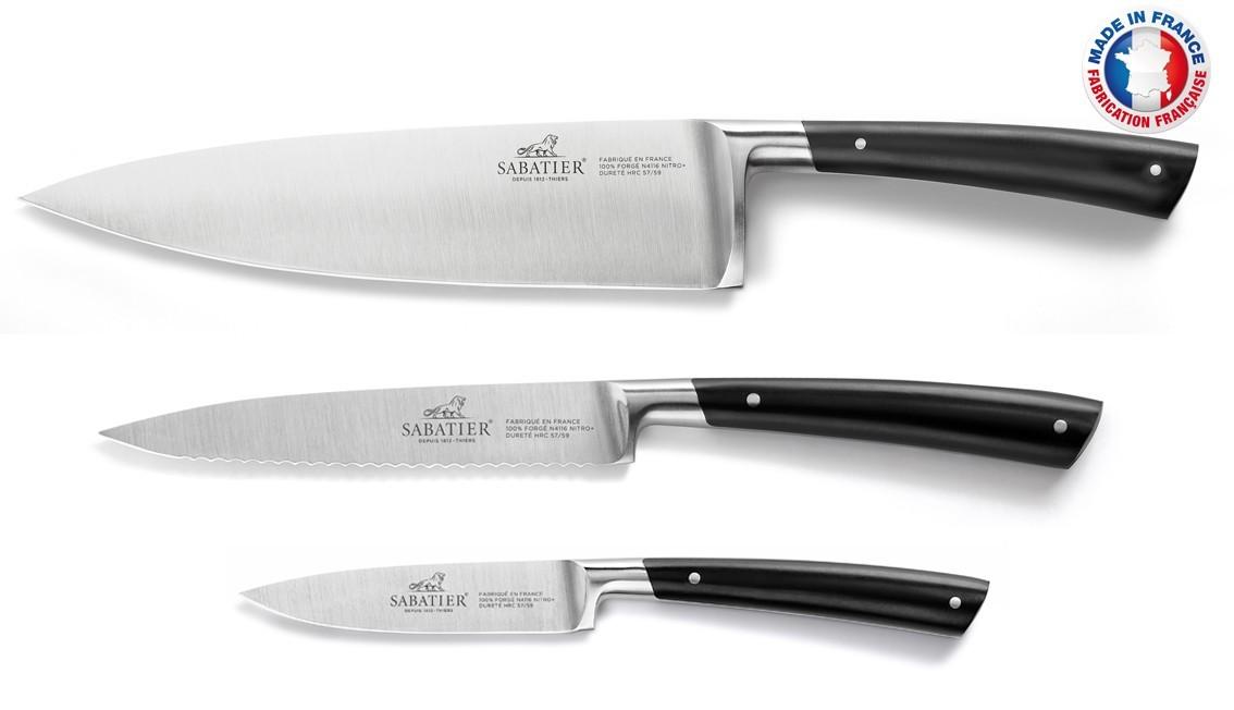 Lion Sabatier Edonist 3pce Knife Set