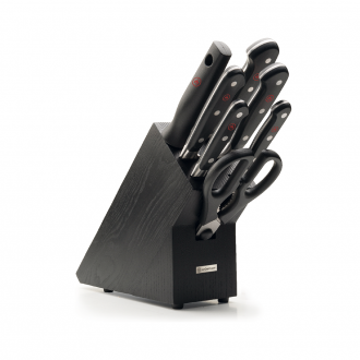 Wusthof Classic 7pc Knife Block Black Ash (WT1090170707)