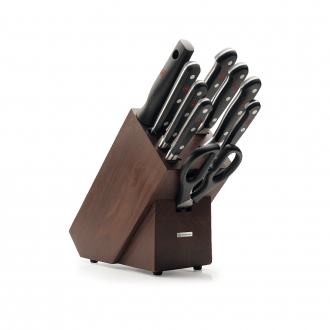 Wusthof Classic 9pc Knife Block Brown Ash (WT1090170904)