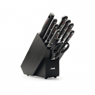 Wusthof Classic 9pc Knife Block Black Ash (WT1090170905)