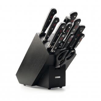 Wusthof Classic 12pc Knife Block Black Ash (WT1090171204)