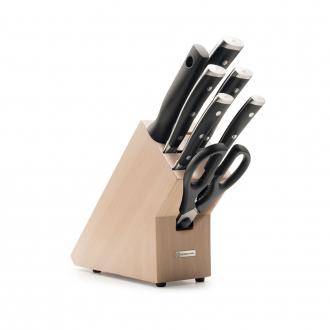 Wusthof Classic Ikon 7pc Knife Block Beech (WT1090370701)
