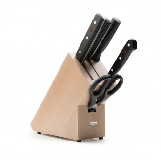 Wusthof Gourmet 5pc Chinese Knife Block Beech (WT1095070501)