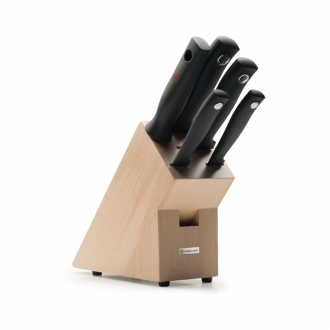 Wusthof Silverpoint 5pc Knife Block Beech (WT1095170501)