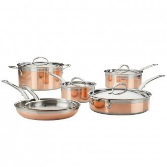 Hestan CopperBond Induction Copper Ultimate Set 10 Piece (31592)