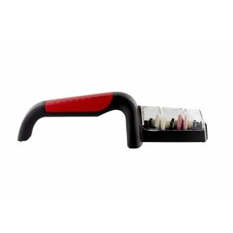 Global Ceramic Knife Sharpener Red Handle (GS-440/BR)