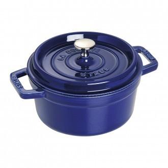 Staub Cast Iron Cocotte 22cm Dark-Blue (40510-265-0)