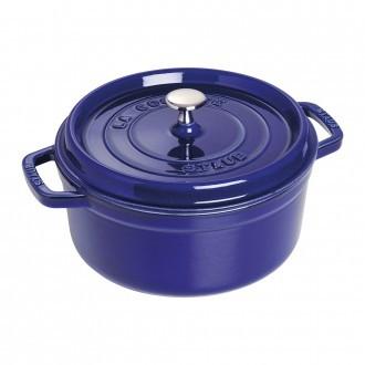 Staub Cast Iron Cocotte 24cm Dark-Blue (40510-283-0)