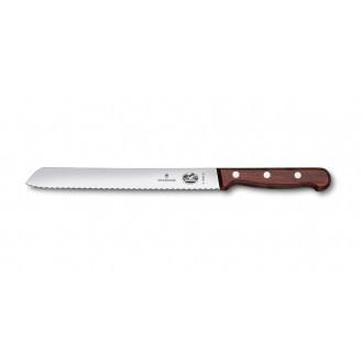 Victorinox Wood 21cm Bread Knife with Serrated Edge (5163021G)