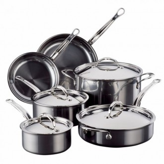 Hestan 10-Piece Nano Bond Cookware Set