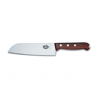 Victorinox Wood 17cm Santoku Knife (6850017G)