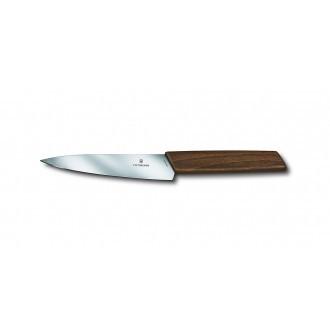 Victorinox Swiss Modern Walnut 15cm Paring Knife (6901015G)