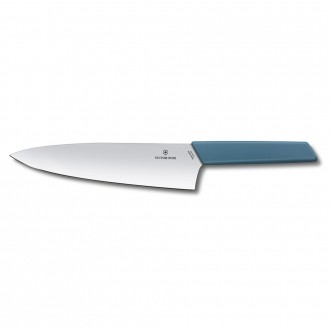 Victorinox Swiss Modern Colour 20cm Carving Knife - Cornflower Blue (69016202B)