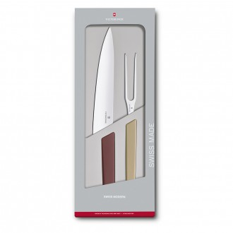 Victorinox Swiss Modern Colour 2 Piece Carving Set - Multicoloured (6909621G)