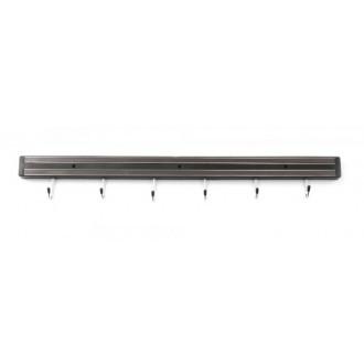 KK Knife Magnet with 6 Hooks 600mm