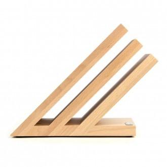 Artelegno Venezia 3-tier Magnetic Beechwood Knife Block