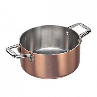 Scanpan Maitre D' Copper 16cm Mini Dutch Oven/Casserole