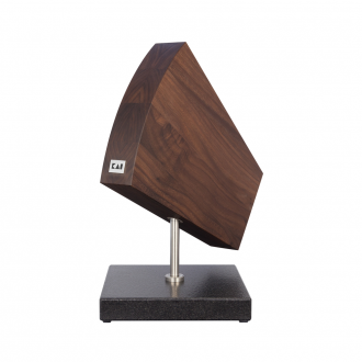 Kai Shun Turntable/Walnut/Granite Pedestal Knife Block (KAI-DM-0799)