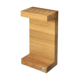 Kai Shun C-Knife Block - Oak (KAI-DM-0803)
