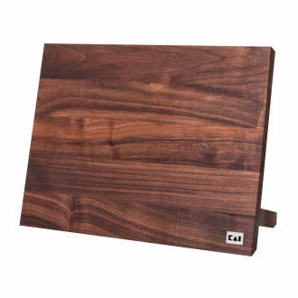Kai Shun Kai Magnet Knife Block - Walnut (KAI-DM-0806)