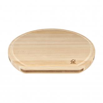 Kai Shun Hinoki Grooved Cutting Board (KAI-DM-0818)