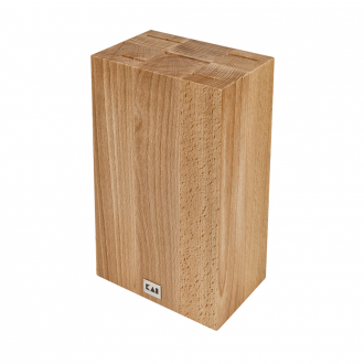 Kai Shun Knife Block Cube - Beech Wood (KAI-DM-0819)