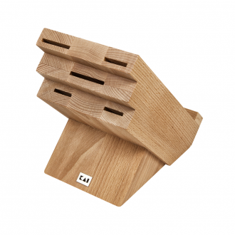 Kai Shun Knife Block With Holder - Beech Wood (KAI-DM-0820)
