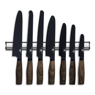 Rockingham Forge Safe D 8 Piece Magnetic Knife Rack Set (EXCLUSAFED5)