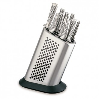 Global G8311K - Stainless Steel Knife Block with 11 Global Knives  (G-8311/K)