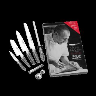 Global Michel Roux Jr GROUX6 - 6 Piece Boxed Knife Set (G-ROUX/6)