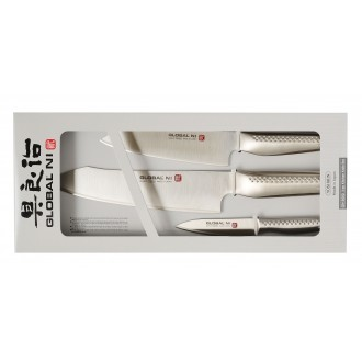 Global Knives NI Series 3 Piece Knife Set (GN-3002)
