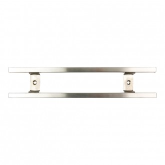 Rockingham Forge Magnetic Stainless Steel Knife Rack with Hooks 30cm