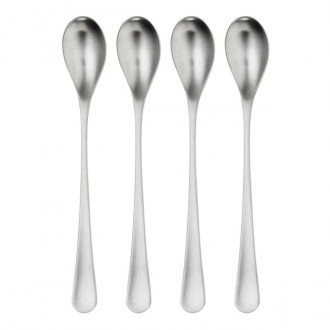Robert Welch RW2 Satin Long Handled Spoon 4 Piece Set