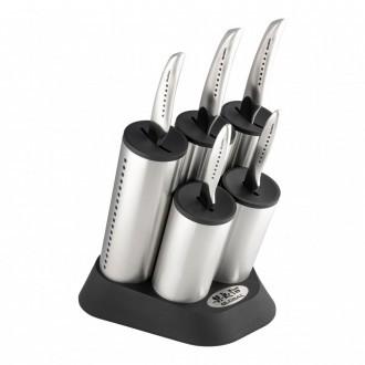 Global SAI 6 Piece Engine Knife Block Set (SAI-2020/6B)