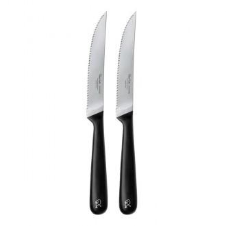Robert Welch Signature V Serrated Steak Knife Set 2 Piece