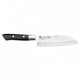 Kasumi Hammered 13cm Santoku Knife (SM-74013)