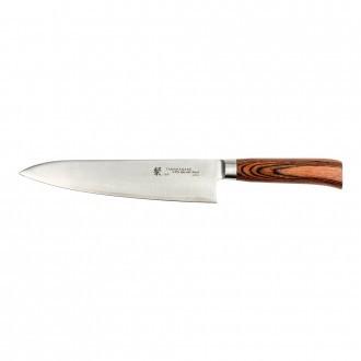 Tamahagane San Tsubame Wood 21cm Chef's Knife