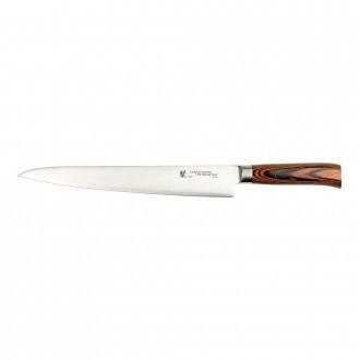 Tamahagane San Tsubame Wood 27cm Slicing Knife (SN-1112)