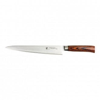 Tamahagane San Tsubame Wood 24cm Slicing Knife (SN-1113)