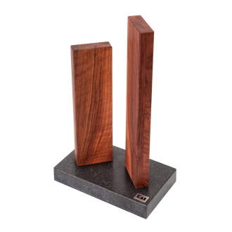 Kai Shun Knife Block - Granite/Walnut (KAI-STH-4.3)