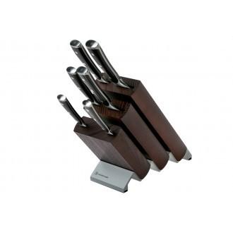 Wusthof Ikon 6pc Knife Block Brown Ash (WT1090570601)