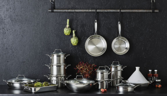 Scanpan Impact Stainless Steel Pans