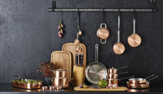 Scanpan Maître D' Copper Pans